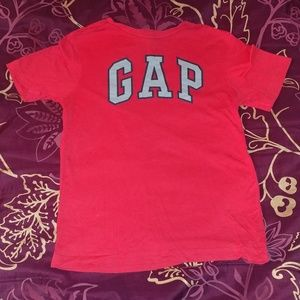 GAP Kids red t-shirt with logo